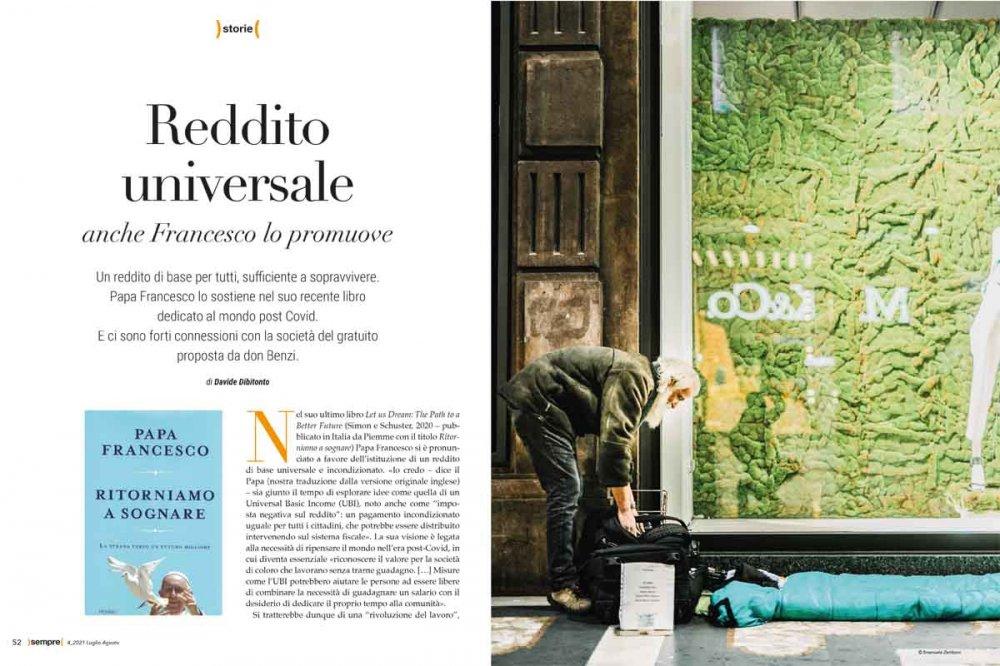 Sempre Magazine 4 2021 Reddito universale