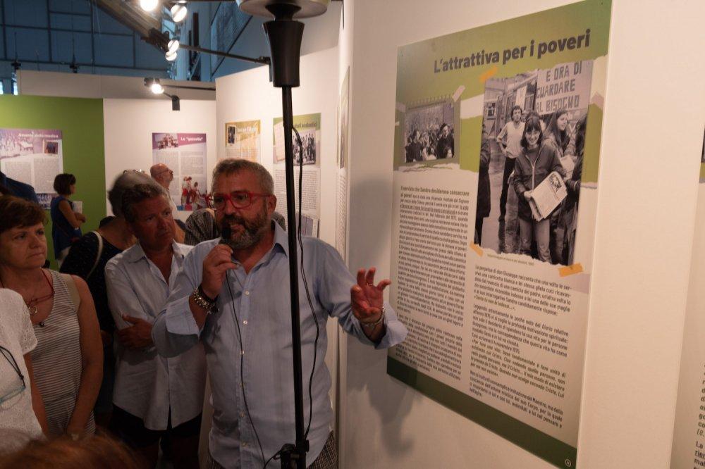 Stefano Vitali presenta la mostra di Sandra