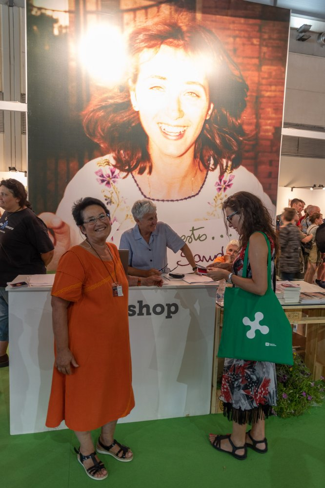 Laila Lucci, la curatrice della mostra dedicata a Sandra al Meeting