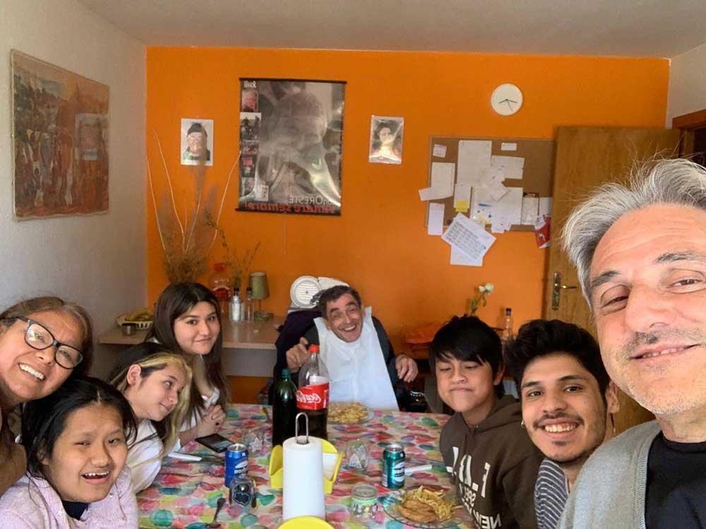 Vicky Arturo e famiglia