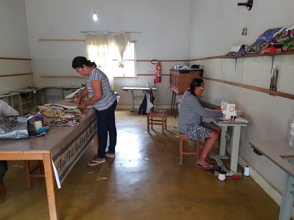 Laboratorio taglio cucito