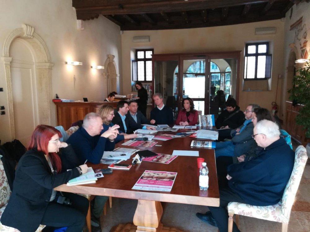Conferenza stampa a Verona