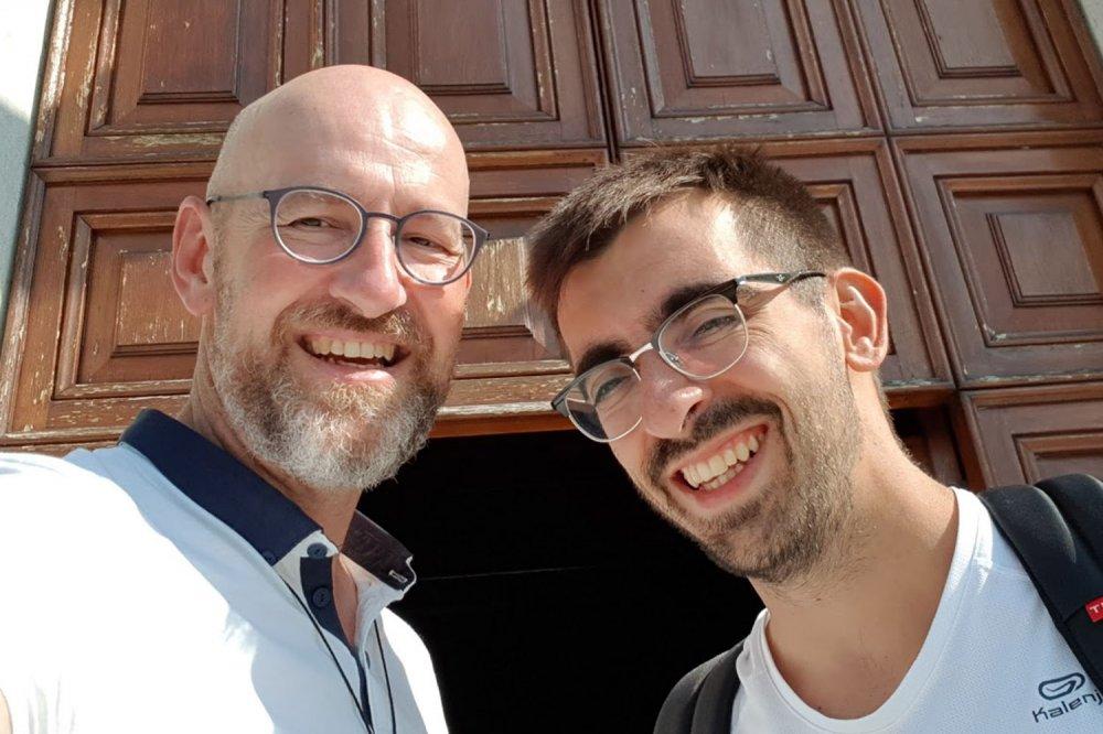 Don Giovanni Berti e Lorenzo Galliani