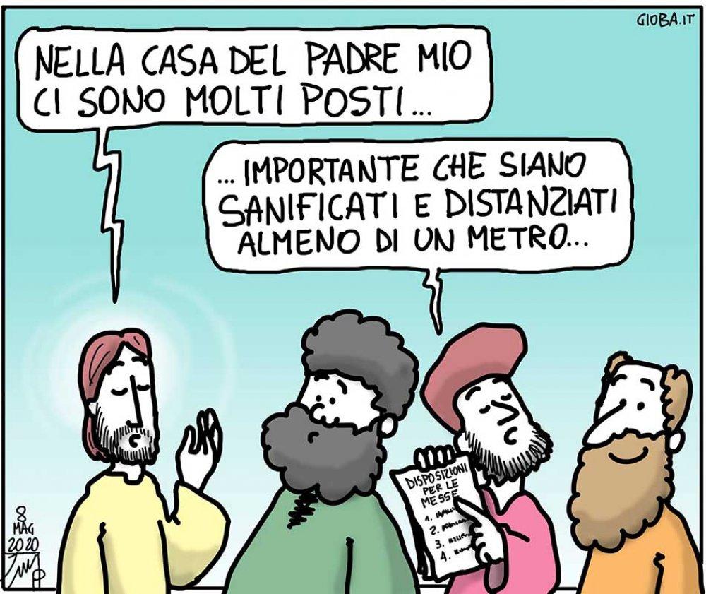 Don Giovanni Berti vignetta
