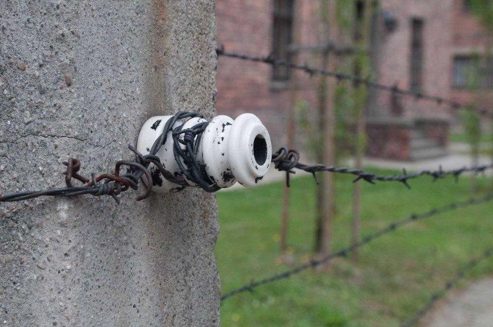 Ebrei. Filo spinato ad Auschwitz