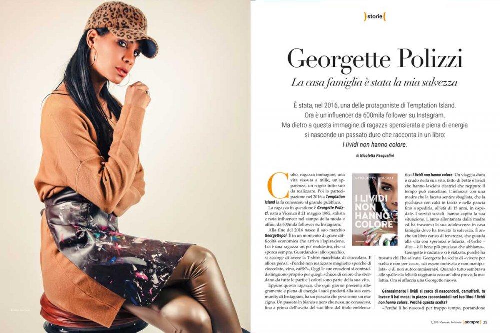 Articolo Georgette Polizzi su Sempre Magazine