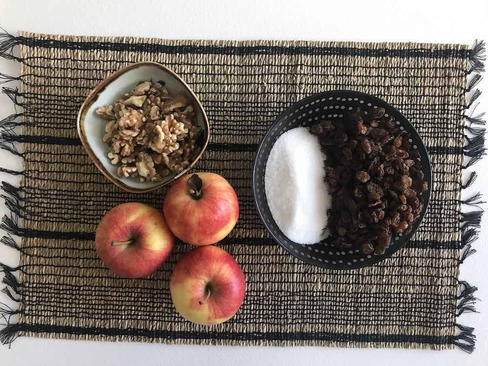 Ingredienti della Gibanica dolce