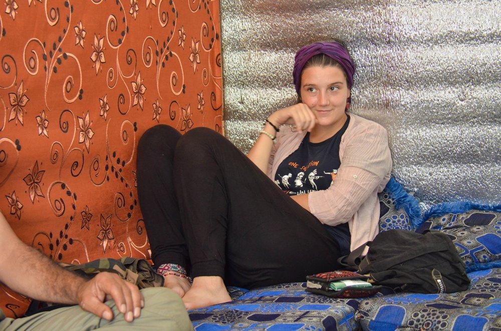 Giulia Longo campo profughi