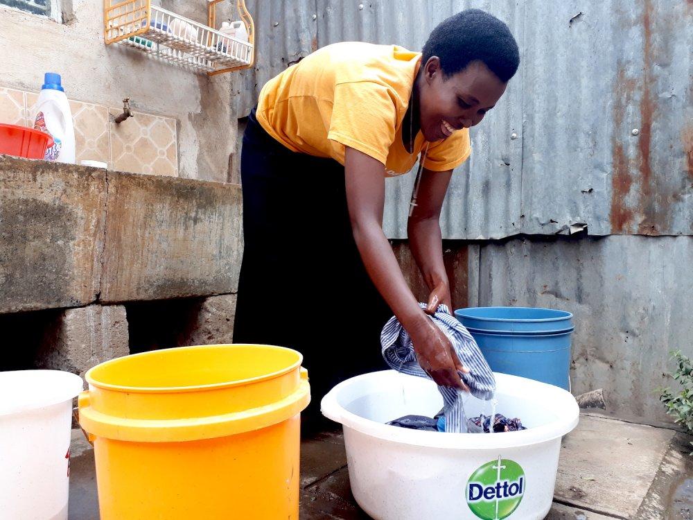 Lea missionaria in Kenya