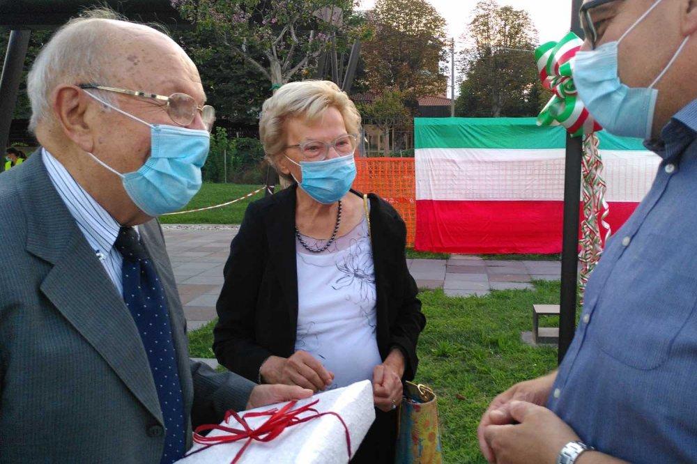 I genitori di Massimo Barbiero