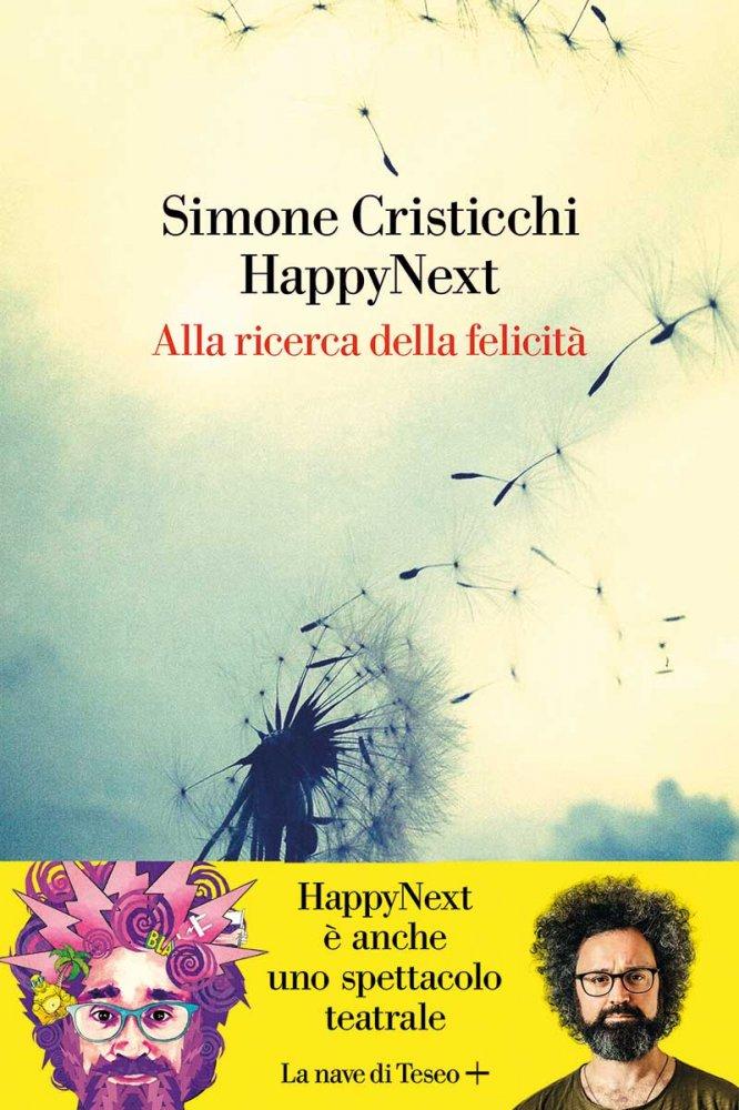 Copertina del ibro HappyNext di Simone Cristicchi