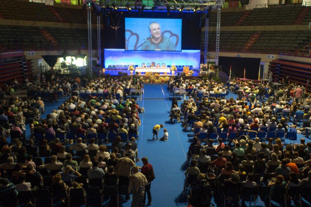 Giovanni Paolo Ramonda all'assemblea annuale