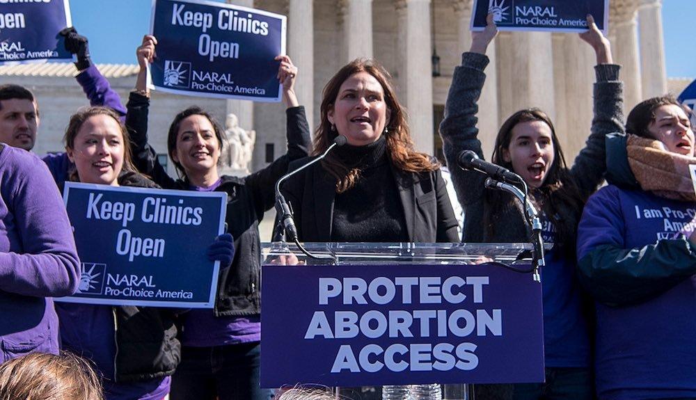 Manifestazione a favore dell'aborto