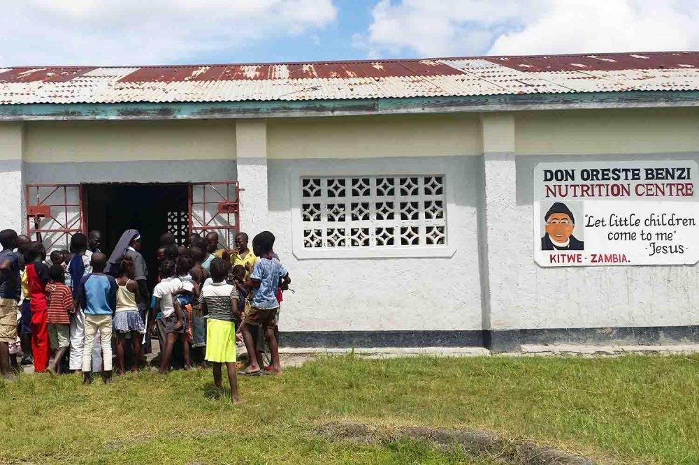 Centro nutrizionale Don Oreste Benzi in Zambia