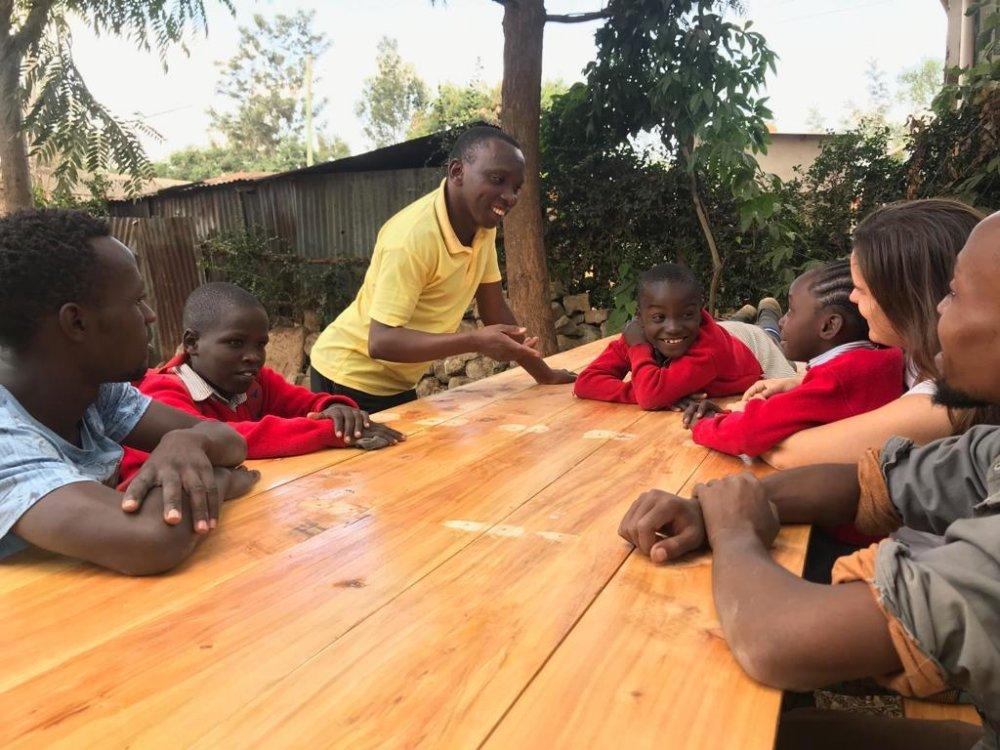 Tito missionario in Kenya