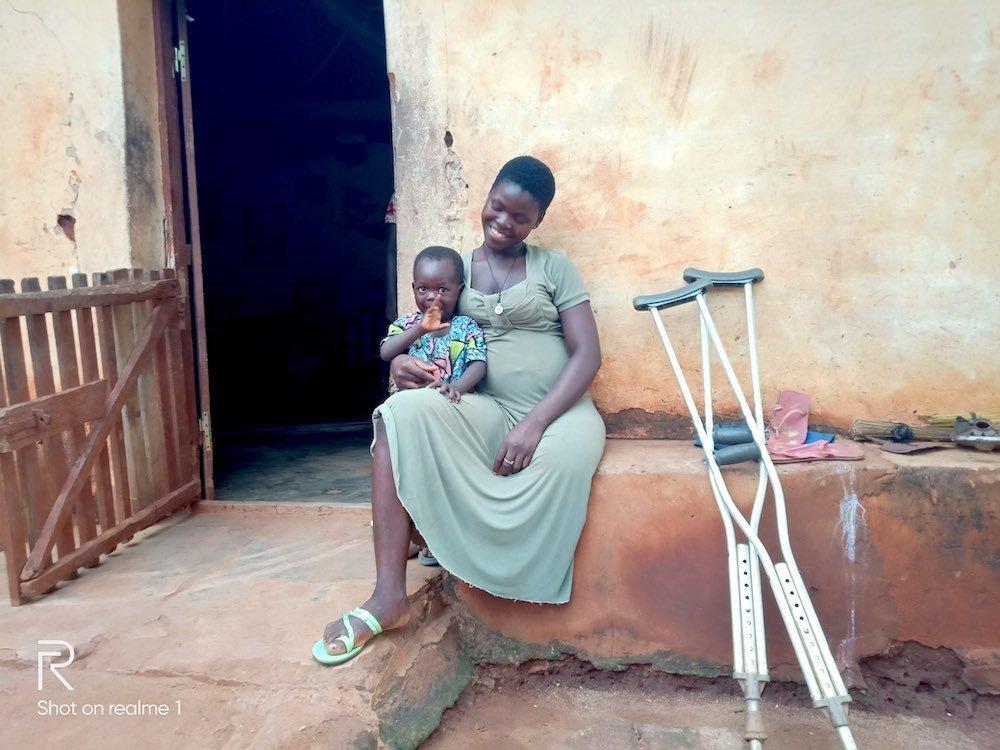 Madre e bimbo in Togo