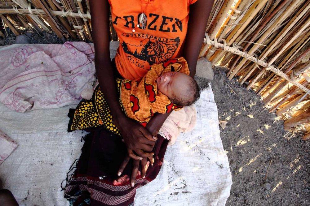 Neonato in Turkana