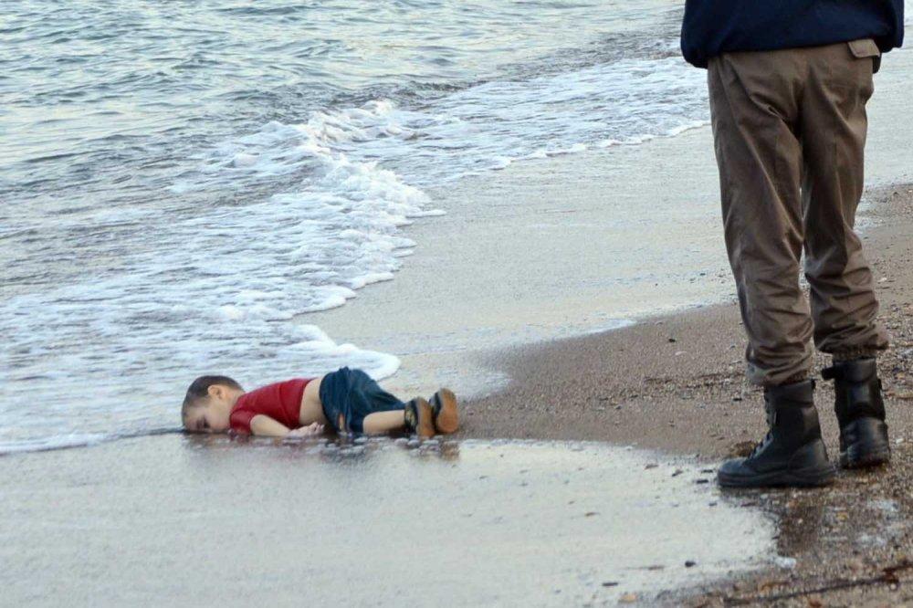 Alan Kurdi, il corpo sulla spiaggia