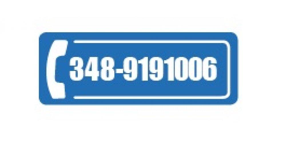 Cerchi aiuto? Chiama: 348.9191006
