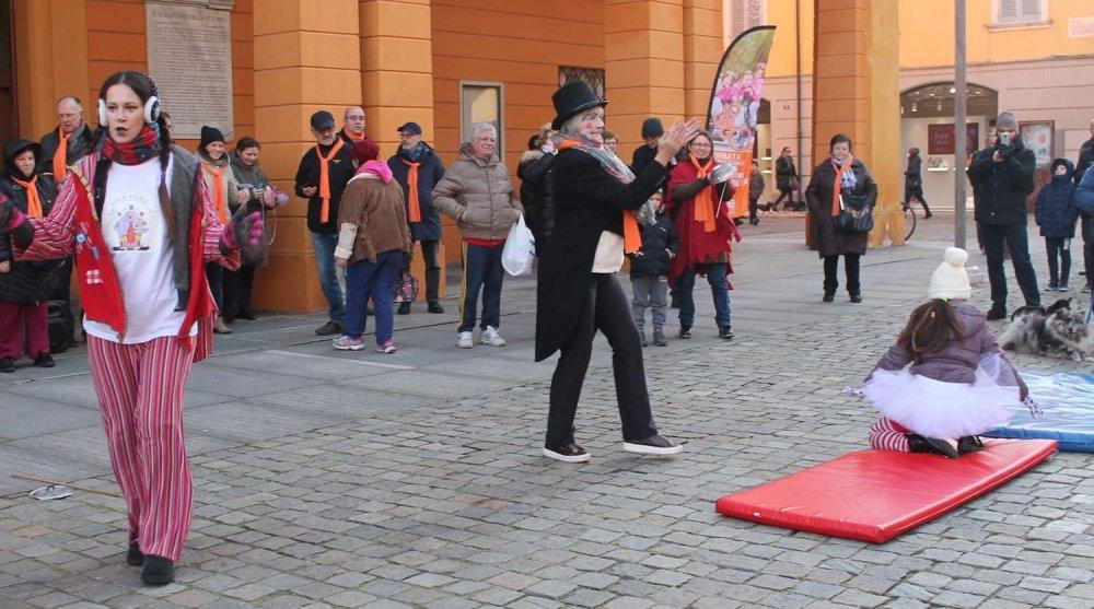Giocolieri in strada