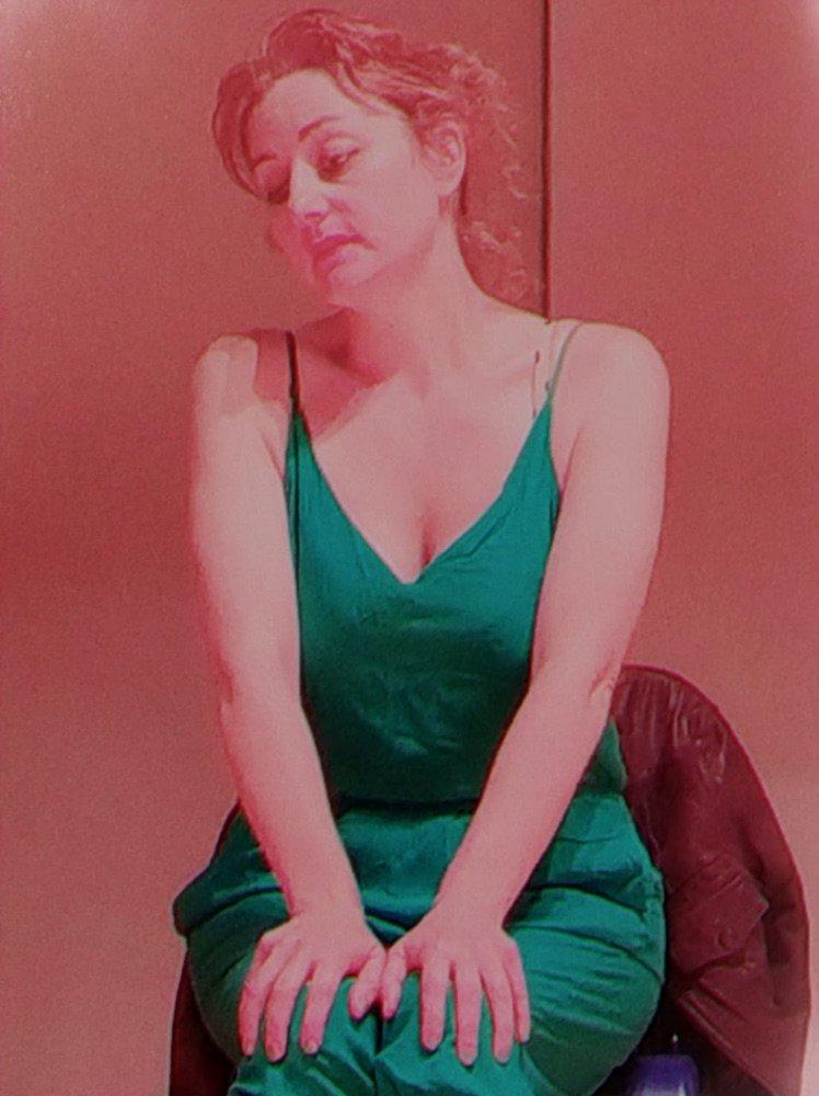 Attrice nel ruolo di una donna disposta a prostituirsi