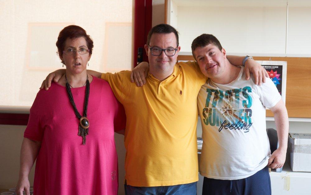 3 ragazzi disabili psichici