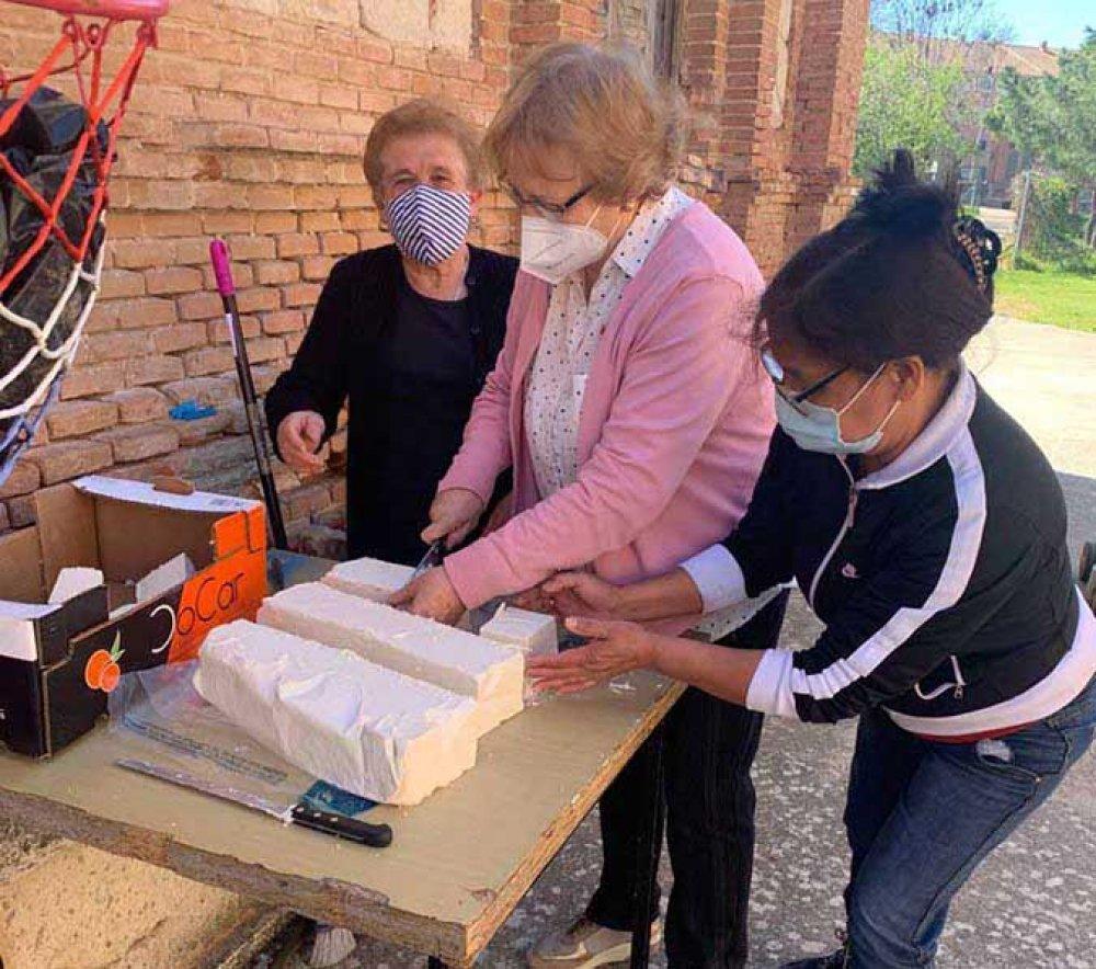 Vicky fa il sapone a Guadalajara